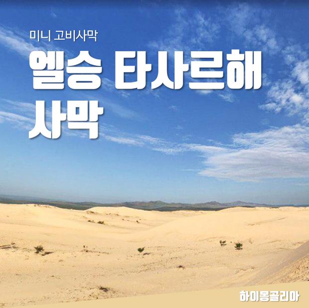 엘승 타사르해 사막