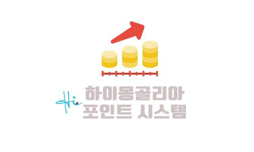 하이몽골리아 포인트 시스템 소개